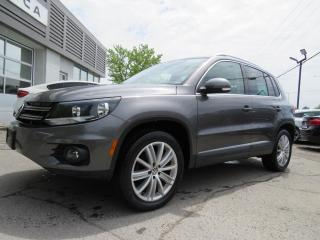 Used 2016 Volkswagen Tiguan 4MOTION Highline NAVIGATION CAMERA *66,000KM* for sale in St-Eustache, QC