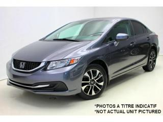 Used 2014 Honda Civic EX *Bluetooth *Camera *Toit-Ouvrant/Sunroof for sale in St-Hubert, QC