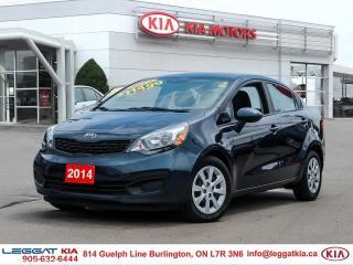 Used 2014 Kia Rio LX+ for sale in Burlington, ON