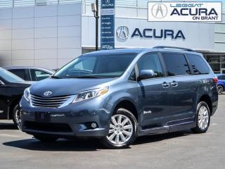 Used 2017 Toyota Sienna XLE | ONLY6000KMS | WHEELCHAIRACCESSIBLE | LOADED for sale in Burlington, ON