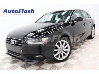 Used 2014 Audi A4 2.0T * M6 * Bluetooth *Toit-Ouvrant/Sunroof for sale in St-Hubert, QC