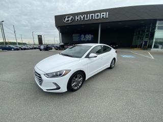 Used 2017 Hyundai Elantra GL,A/C,CAMÉRA,VOLANT CHAUFF,BLUETOOTH,CRUISE,VITRE for sale in Mirabel, QC