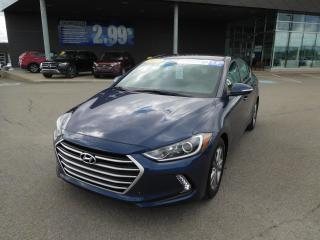 Used 2017 Hyundai Elantra GL,A/C,CAMÉRA,VOLANT CHAUFF,BLUETOOTH,CRUISE,VITRE for sale in Mirabel, QC
