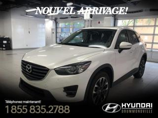 Used 2016 Mazda CX-5 GT AWD + GARANTIE + NAVI + TOIT + BOSE + for sale in Drummondville, QC