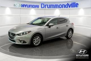 Used 2016 Mazda MAZDA3 GS + GARANTIE + CAMERA + MAGS + FOGS + for sale in Drummondville, QC