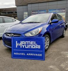 Used 2014 Hyundai Accent GL 5PORTES ** AUBAINE** for sale in St-Eustache, QC