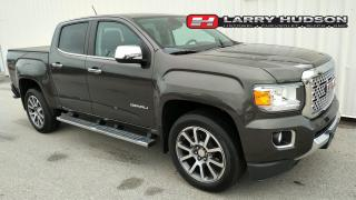 Used 2020 GMC Canyon Denali Crew Cab | Navigation | Spray On Liner | Tonneau Cover for sale in Listowel, ON