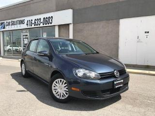 Used 2012 Volkswagen Golf TRENDLINE for sale in Toronto, ON