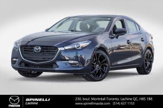 Used 2018 Mazda MAZDA3 GT PREMIUM CUIR TOIT OUVRANT SIEGES CHAUFFANTS GPS Mazda 3 GT Premium 2018 for sale in Lachine, QC