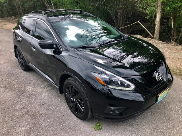 2018 Nissan Murano Midnight Edition with only 50000 km