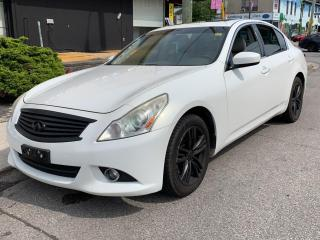 Used 2010 Infiniti G37 SEDAN for sale in Scarborough, ON