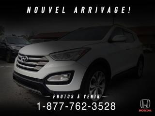 Used 2016 Hyundai Santa Fe Sport 2.0T + LIMITED + NAVI + CUIR + WOW! for sale in St-Basile-le-Grand, QC