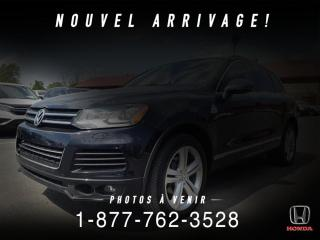 Used 2014 Volkswagen Touareg HIGHLINE + R-LINE + NAVI + TOIT + WOW! for sale in St-Basile-le-Grand, QC