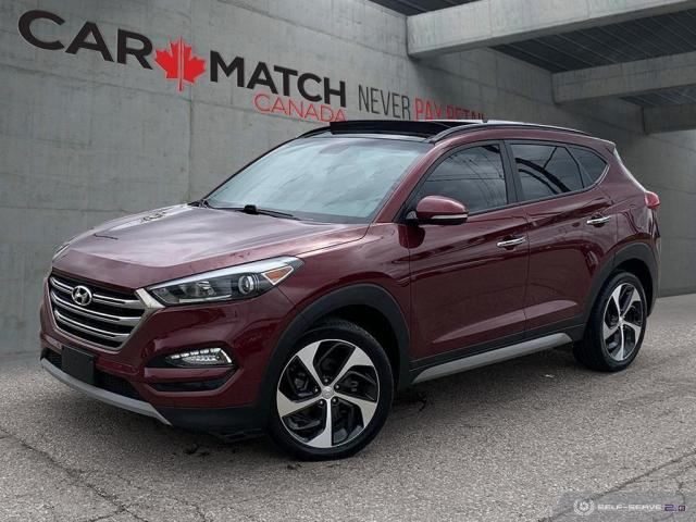 2017 Hyundai Tucson SE / LEATHER / ROOF / NO ACCIDENTS
