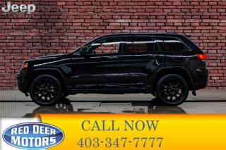 Used 2018 Jeep Grand Cherokee 4x4 Altitude IV Leather Nav Bcam for sale in Red Deer, AB