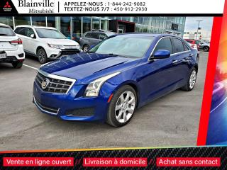 Used 2013 Cadillac ATS 2.5L CUIR + PUSH TO START + 8 PNEUS for sale in Blainville, QC