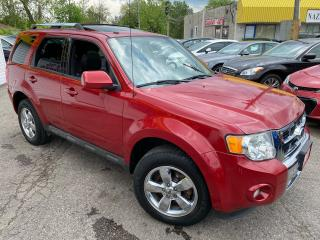 Used 2011 Ford Escape LIMITED/ 4WD/ LEATHER/ SUNROOF/ ALLOYS & MORE! for sale in Scarborough, ON