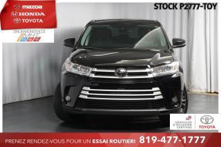 Used 2017 Toyota Highlander GROUPE AMÉLIORÉ| INTÉGRALE| ÉCRAN 8 POUCES for sale in Drummondville, QC