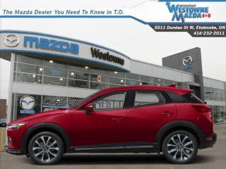New 2020 Mazda CX-3 GT  - Head-Up Display -  Sunroof for sale in Toronto, ON