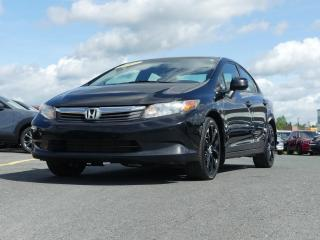 Used 2012 Honda Civic LX / AUTOMATIQUE / JAMAIS ACCIDENTE for sale in St-Georges, QC