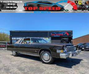 Used 1974 Cadillac Eldorado ORIGINAL MILES / REFURBISHED / REBUILT / ACCIDENT for sale in Richmond Hill, ON