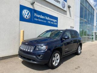 Used 2014 Jeep Compass NORTH 4WD - SUNROOF / HEATED SEATS / BACKUP CAM for sale in Edmonton, AB