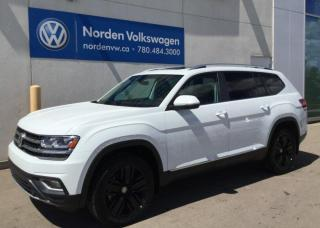 New 2019 Volkswagen Atlas HIGHLINE for sale in Edmonton, AB