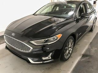 Used 2019 Ford Fusion Hybrid TITANIUM FWD HYBRID for sale in Red Deer, AB