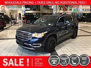 Used 2017 GMC Acadia SLT AWD - Local / Nav / Sunroof for sale in Richmond, BC