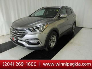 Used 2018 Hyundai Santa Fe Sport Premium *Accident Free, Always Owned In MB!* for sale in Winnipeg, MB