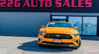 Used 2018 Ford Mustang EcoBoost|ACCIDENT FREE| for sale in Brampton, ON
