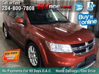 Used 2013 Dodge Journey R/T for sale in Winnipeg, MB