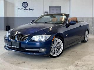 Used 2011 BMW 335i 6 SPEED|CABRIOLET|ACCIDENT FREE|NAV|360 SENSORS| for sale in Oakville, ON