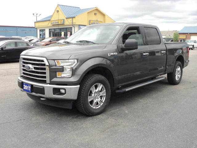 2017 Ford F-150 XLT CrewCab XTR 4x4 5.0L 6.5ft Box BackUpCam