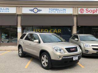 Used 2010 GMC Acadia SLT AWD, Leather, Sunroof, DVD for sale in Vaughan, ON
