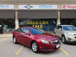 Used 2012 Chevrolet Cruze LT Turbo+ Sunroof, 2 Years Warranty for sale in Vaughan, ON