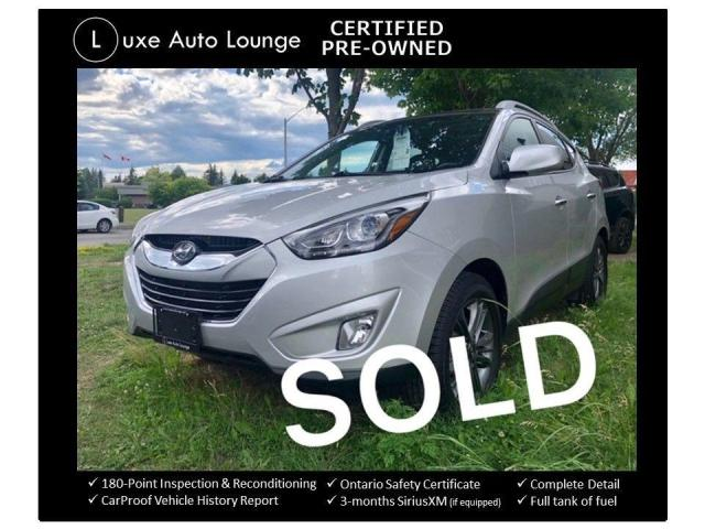 2015 Hyundai Tucson GLS AWD PANORAMIC SUNROOF, HEATED SEATS, BLUETOOTH
