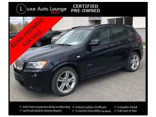 Used 2012 BMW X3 35i--NAVIGATION, BACK-UP CAMERA, PANORAMIC SUNROOF for sale in Orleans, ON