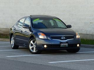 Used 2008 Nissan Altima LEATHER,HEATED SEAT,SUNROOF,ALLOY RIMS,NO-ACCIDENT for sale in Mississauga, ON