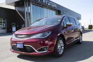 Used 2017 Chrysler Pacifica | LOW KMS| ONE OWNER | LEATHER SEATS | TEST DRIVE AVAILABLE | for sale in Burlington, ON
