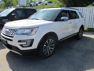 Used 2017 Ford Explorer Platinum for sale in North Bay, ON