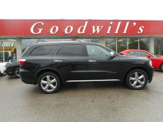 Used 2012 Dodge Durango CITADEL! LOADED! HEATED & COOLED LEATHER! NAV! for sale in Aylmer, ON
