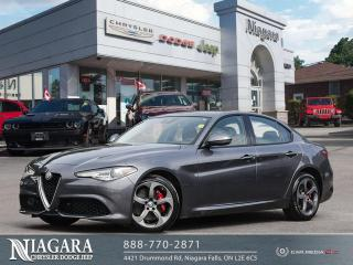 Used 2017 Alfa Romeo Giulia Base for sale in Niagara Falls, ON