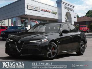 Used 2017 Alfa Romeo Giulia Base for sale in Niagara Falls, ON