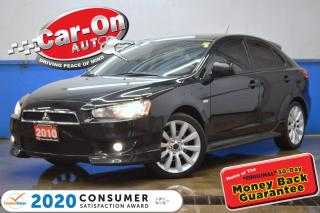 Used 2010 Mitsubishi Lancer Sportback GTS LEATHER SUNROOF HTD SEATS BLUETOOTH LOADED for sale in Ottawa, ON