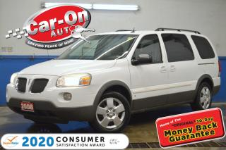 Used 2008 Pontiac Montana Sv6 7 Passenger A/C CRUISE DVD for sale in Ottawa, ON