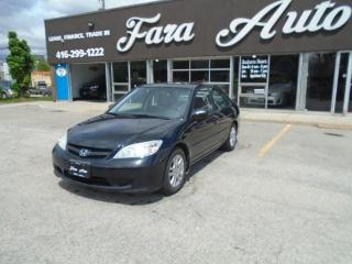Used 2005 Honda Civic 4dr LX-G Auto for sale in Scarborough, ON