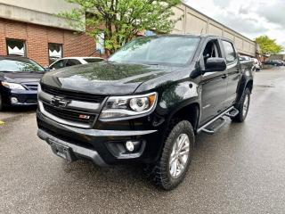 Used 2017 Chevrolet Colorado 2WD Crew Cab Z71 for sale in North York, ON