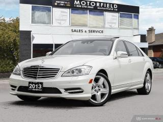 Used 2013 Mercedes-Benz S-Class S550 4MATIC LWB AMG *Navi | Blindspot | Night Vision | DVDs* for sale in Scarborough, ON