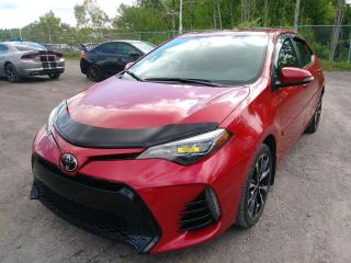 Used 2017 Toyota Corolla XSE SIÈGES CHAUFFANTS TOIT OUVRANT CUIR *NAV* for sale in Mirabel, QC